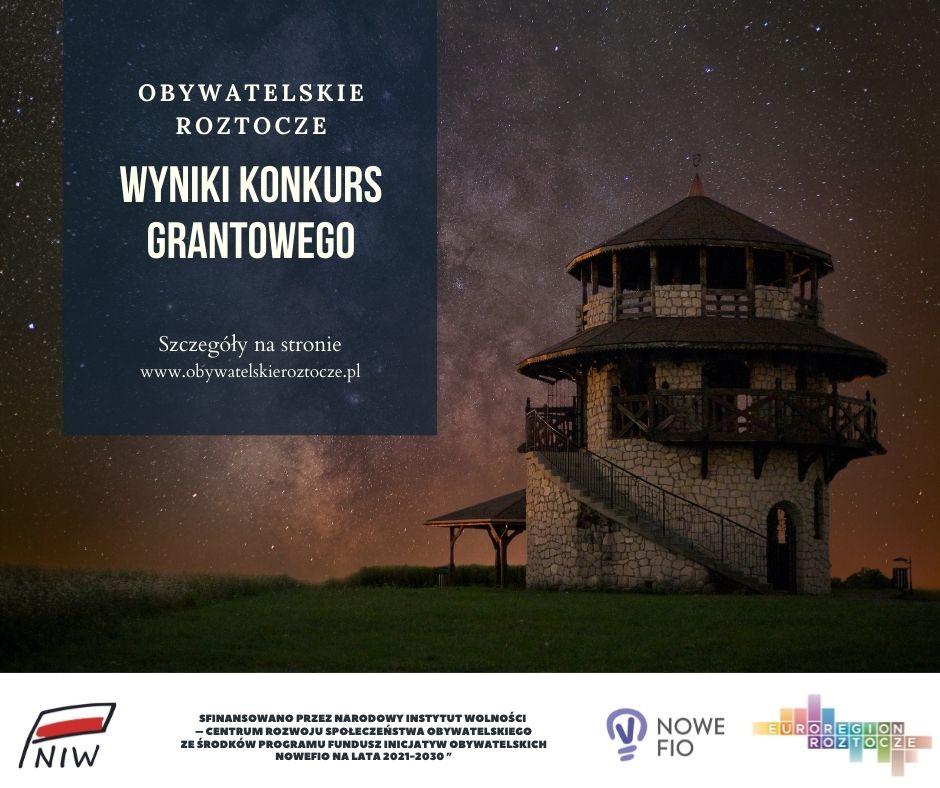 """Wyniki konkursu """"Obywatelskie Roztocze""""!"""